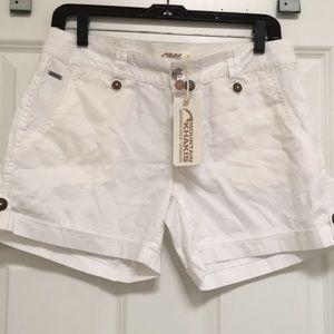 Mountain Khakis Linen Shorts, Size 4, NWT!